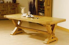 Carnac Solid Oak Table